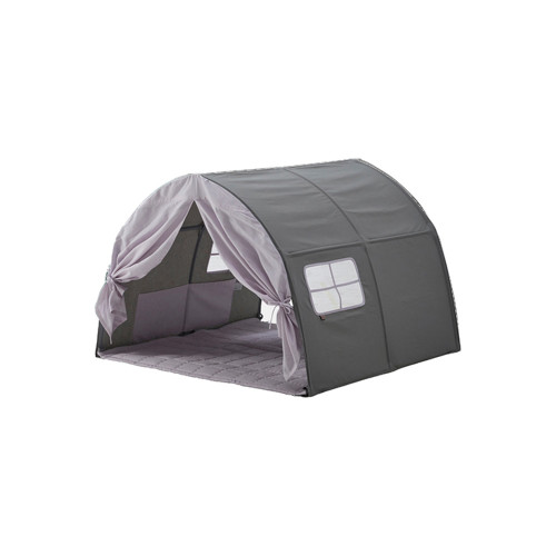 Iloom Cabin Kids Tent Canopy Purple