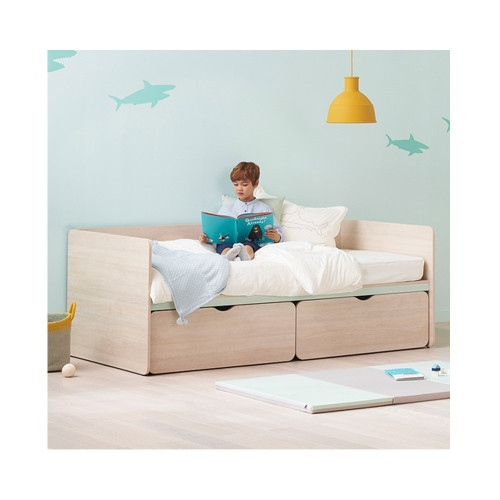 ILOOM CABIN TWO STORY SLIDING BED, suitable for double drawer bed with siblings at home