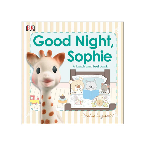 Follow Sophie and her friends as they go through their nightly routine to get ready for bed in this touch and feel book.