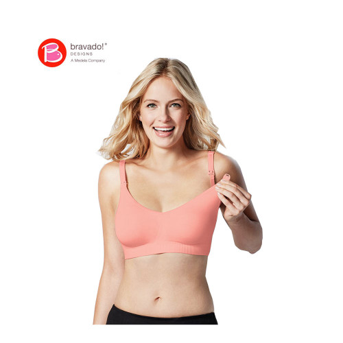 Bravado Body Silk Seamless Nursing Bra Apricot