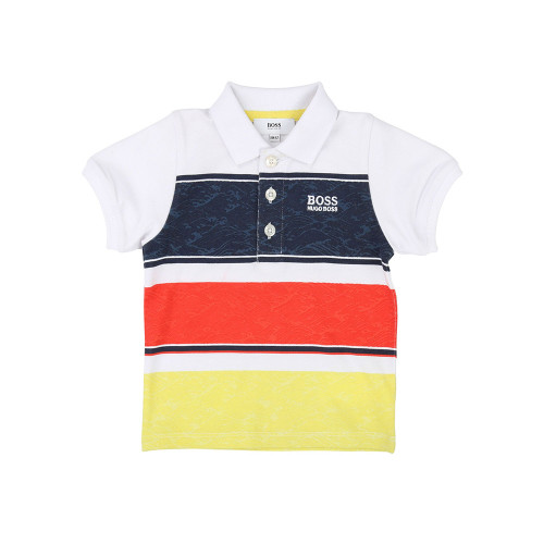 It's a  boys' polo shirt designed by Huge Boss.