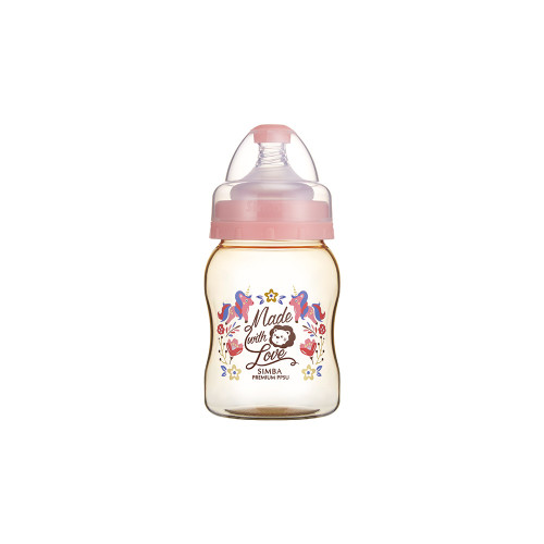 Simba Wonderland PPSU Wide Neck Feeding Bottle(200ML) Pink