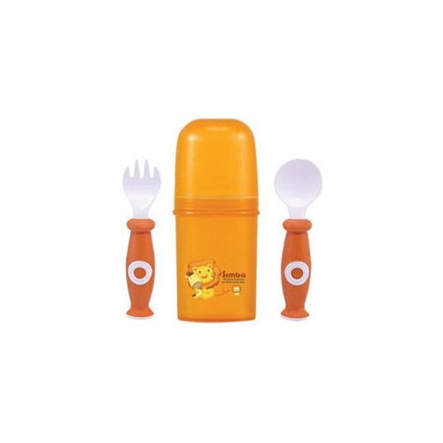 Simba Cased  Cutlery Set  Orange