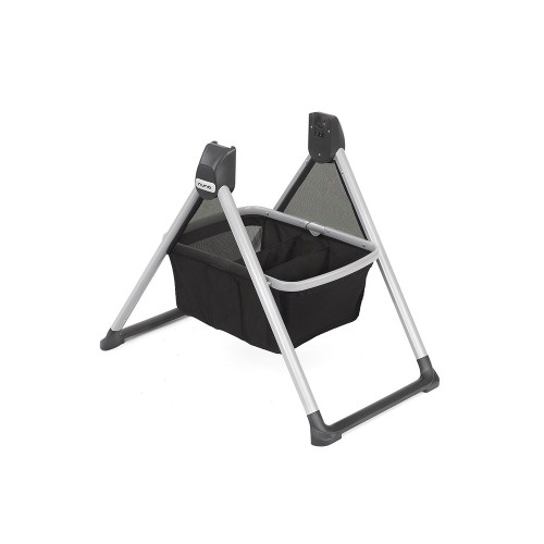 The Nuna MIXX Series Stand provides an easy, convenient and safe way to use your bassinet or stroller seat indoors.