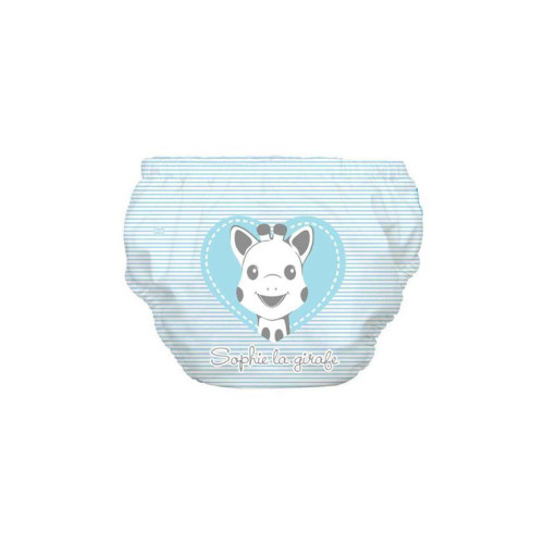 Charlie Banana® 2-in-1 Swim Diaper & Training pants have a waterproof, outer layer and a soft organic cotton interior lining, which is gentle against your baby's skin.