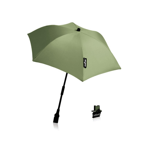the parasols can be connected to all YOYO versions (0+ or 6+) including the car seat.