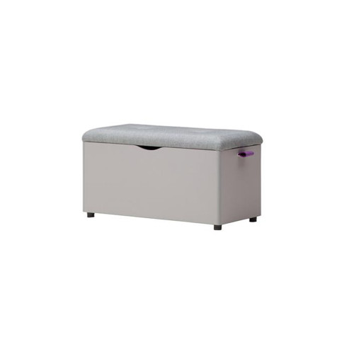 It is a rack storage bench that can be used as a storage and a bench.