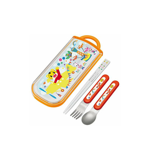 Good design for baby to carry their cutlery with a case