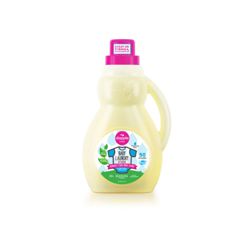 An effective & safer alternative to conventional baby laundry detergent.