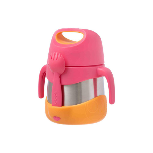 Keeps food at the perfect temperature all day, whether kids prefer warm pasta for lunch or cold refreshing fruit and yoghurt.  Great for kinder and school with a 335ml capacity.