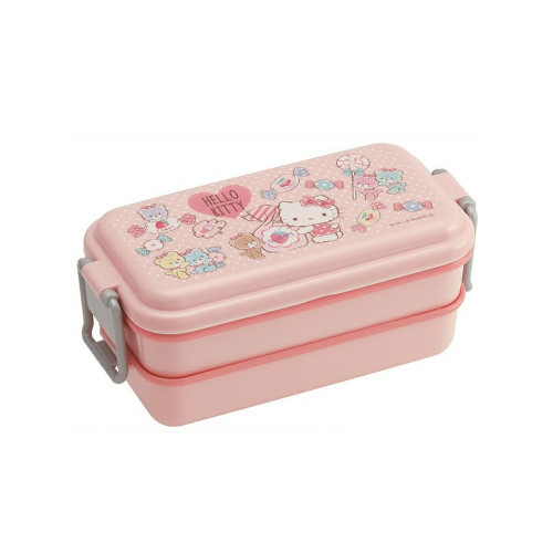 Skater 2 Level Lunch Box 660ml Hello Kitty