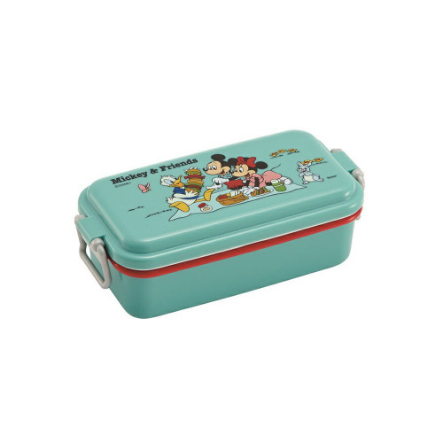 Skater 1 Level Lunch Box 520ml Mickey & Friends