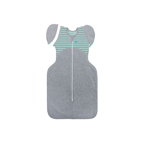 When you place your baby to sleep on their back, their natural position is for their arms to go up. The Love to Dream Swaddle UP Lite features a patented design that allows you to swaddle your baby with their arms up in this more natural position.