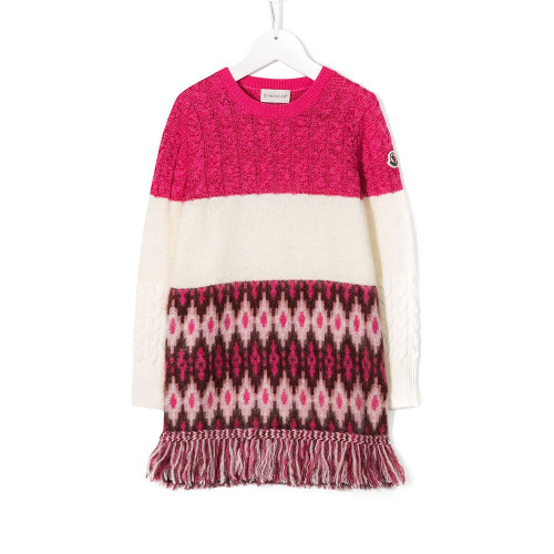 Moncler Abito Knitted Dress