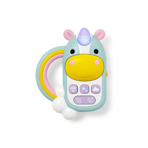 This engaging unicorn phone keeps baby busy and happy with sweet sounds, songs and more.