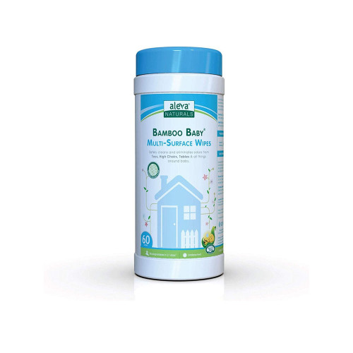 A must-have around the home, the Multi-Surface Wipes are a natural all-purpose formulation to keep your baby's world clean.