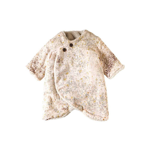NAOMI ITO Coverall Ivory 50-70cm Pink