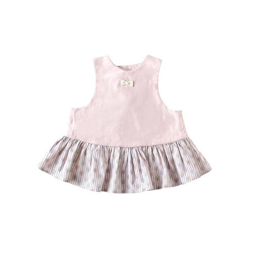 SOULEIADO Bib Dress  Pink