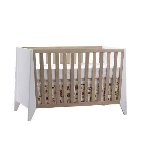 FLEXX is our edgy Scandinavian style collection featuring trapeze shapes on drawers and crib gate fronts.
