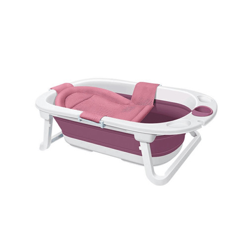 Babyhood Folding Bathtub With Liner Pink NEW