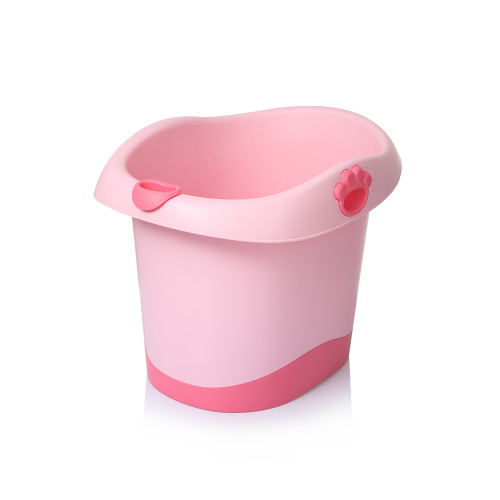 Babyhood Baby Bear Barrel Bath Tub Pink