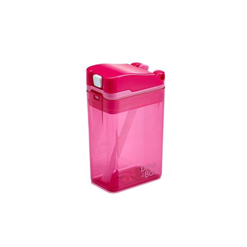 Tritan Drink in the Box Small 8oz New Pink