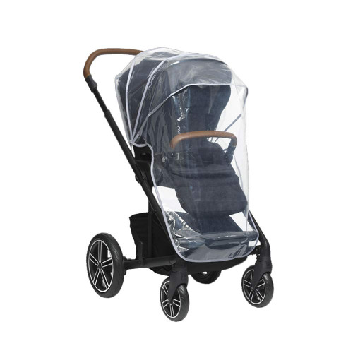 The Nuna MIXX Rain Cover ensures that you're ready for the stroll ahead - no matter the weather.