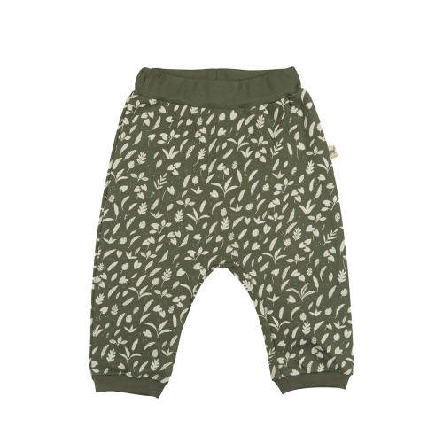 Red Caribou Baggy Pants Rainforest foliage Chive