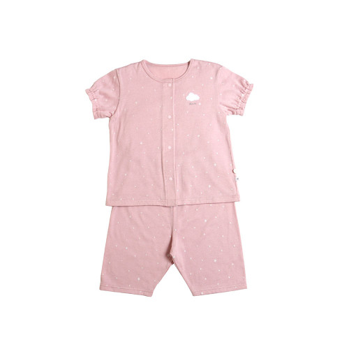 Relax pajamas with a soft touch.