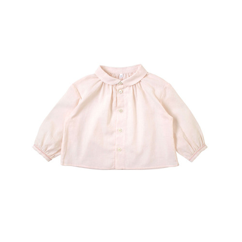 10mois round neck blouse pink 20SS