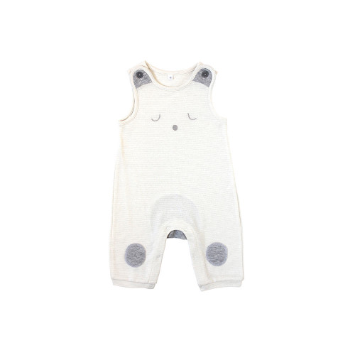 The shoulder part, which looks like a bear's ear, has a button