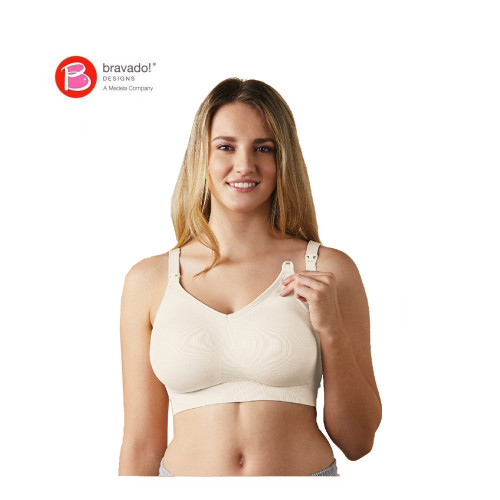 Bravado Body Silk Seamless Nursing Bra Antique White