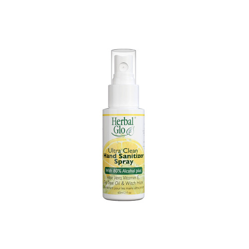 Herbal Glo's Ultra Clean Sanitizer Contains The Exact Formula Recommended By The World Health Organization
