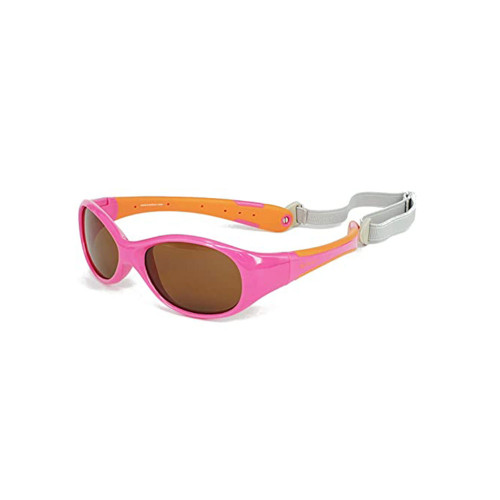 KOOLSUN FLEX sunglasses simply offer the perfect fit and design for your baby. FLEX sunglasses come with a removable buckle strap that can keep them from falling off your baby's face by simply adjusting the back strap for the best possible fit for your baby.