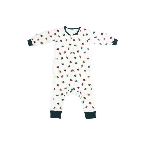 New release from our Eric Carle SS20 Collection, our Ladybug sleep suit will help your little one will be cozy all night long. At the end of a long and eventful day, your little one may have a hard time falling asleep. Luckily, our long sleeve baby sleep suits may be just the right solution for your child's swaddle transition.