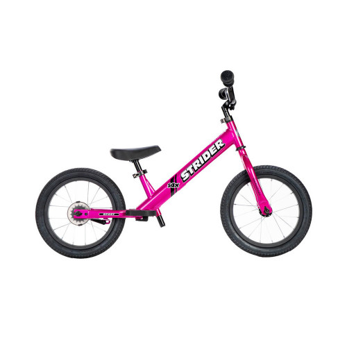 Strider 14 Sport With Pedal Kit  Fuchsia