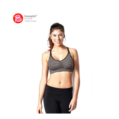 The Body Silk Seamless Yoga Nursing Bra is ideal for your everyday active lifestyle