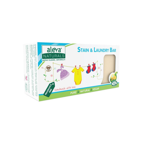 The Stain & Laundry Bar is pure and powerful for removing stains from clothing and fabrics.