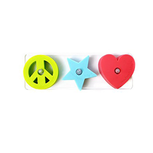 Chewbeads Baby Stack & Play Peace/Love/Star