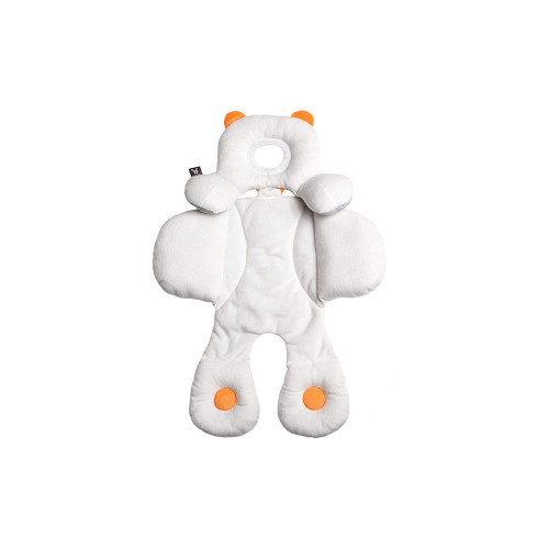 This 3-in-1 ergonomic body hugger provides soft, snuggly support where infants need it the most – head, neck and back– with the added capacity to adapt to baby's growing body.