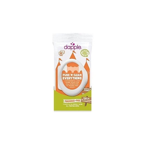 Dapple All Purpose Wipes Fragrance Free 45ct