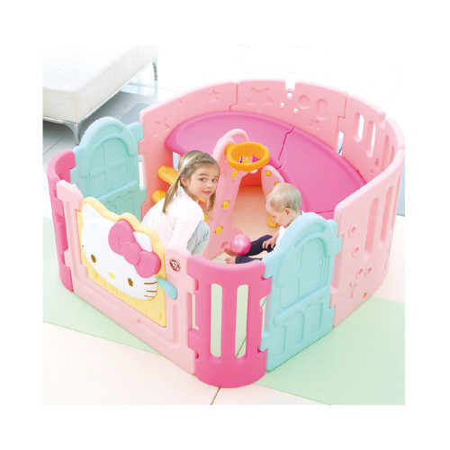 Hello Kitty Spiral Slide & Babyroom