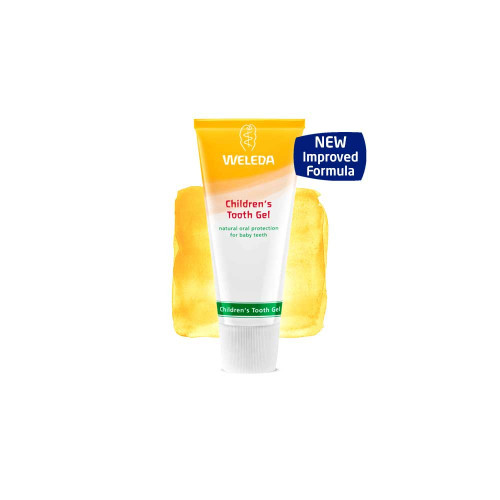 Natural care for children's delicate first teeth. Children's Tooth Gel looks after new and developing teeth and provides natural protection against cavities forming.