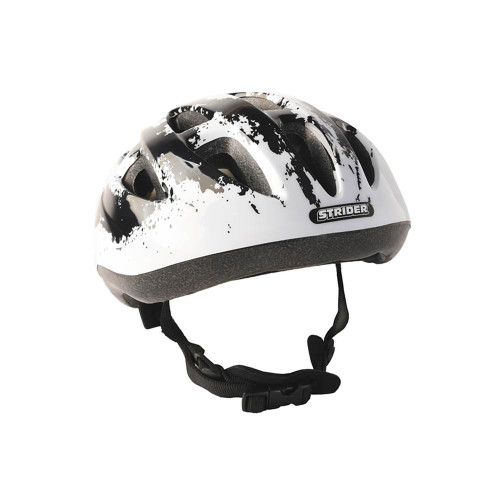 The Strider Splash Helmet has easy-to-use features, including a dial system for easy, on-the-go adjustability.
