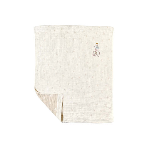 Hoppetta Guri Six-Layer Gauze Blanket Medium