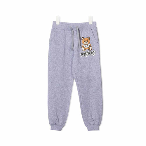 Moschino Sweat-pant With Puzzle Bear Graphic Logo