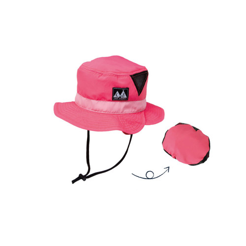 Outdoor hat backpack that can be folded into a small size and is convenient to carry