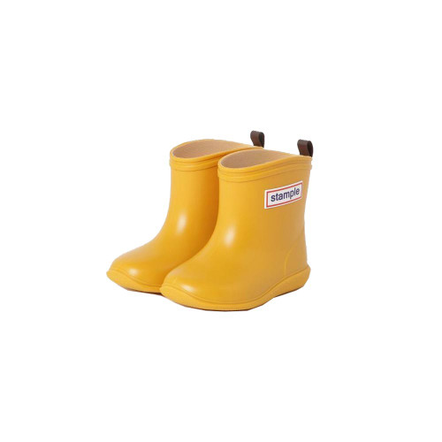 Stample's long-selling product! Light and moderately soft rain boots made in Japan