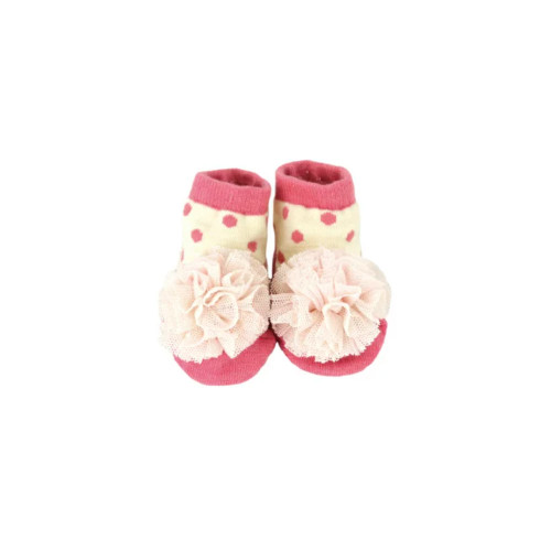 Stample Baby's Socks  Pink 10-12