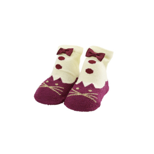 Stample Baby's Socks  Red 10-12